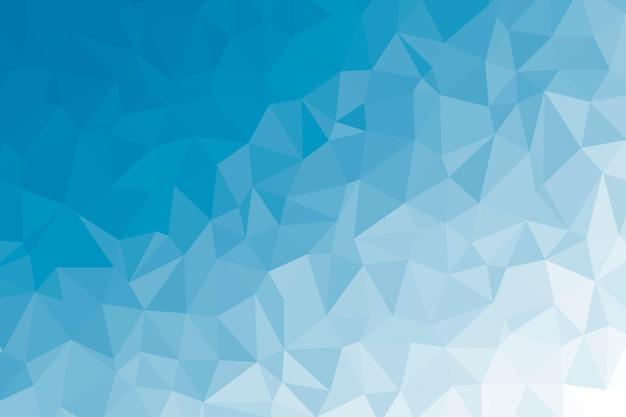 Texture de fond abstrait bleu low poly. illustration de toile de fond polygonale créative