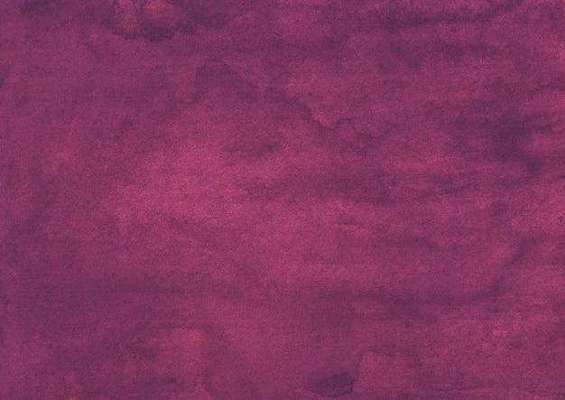 Texture de fond aquarelle cramoisi profond