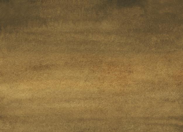 Texture de fond aquarelle marron doré