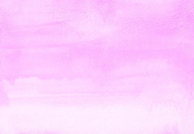 Texture de fond aquarelle ombre rose clair. toile de fond dégradé rose pastel abstrait aquarelle. modèle tendance horizontal.