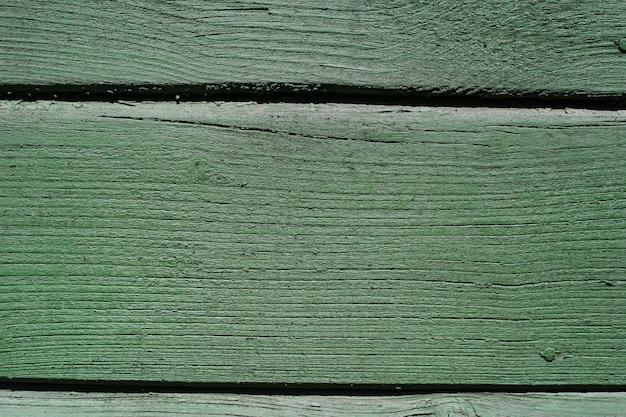 Texture de fond bois vert.