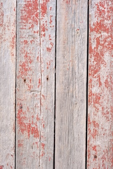 Texture de fond bois vintage avec noeuds et trous de clou