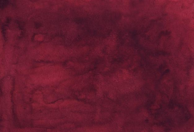 Texture de fond bordeaux poussiéreux élégant aquarelle. fond cramoisi aquarelle vintage