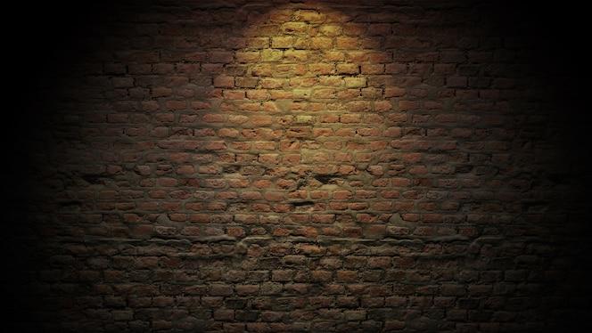 Texture de fond de briques gros plan, fond abstrait, modèle vide