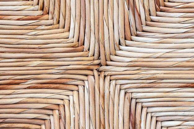 Texture d'un fond de chaise