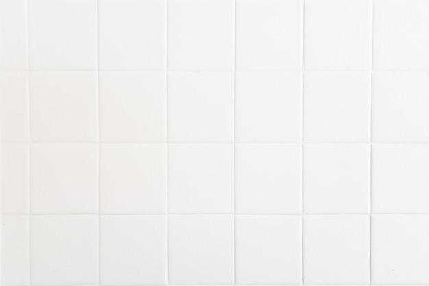 Texture de fond de ciment blanc salle de bain carrée mock up