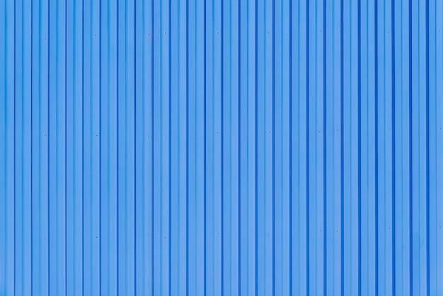Texture de fond de conteneur en métal bleu