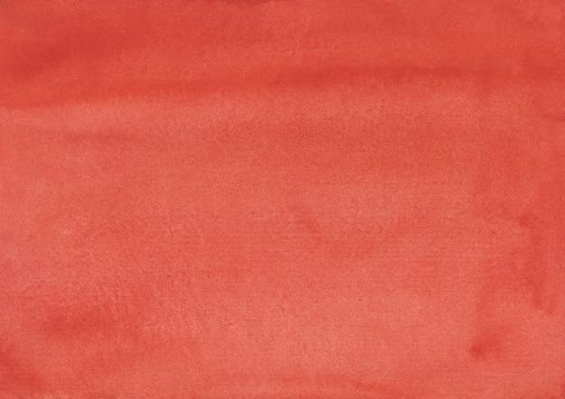 Texture de fond de corail foncé aquarelle peinte à la main.