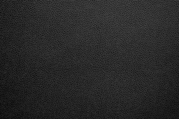Texture et fond de cuir noir