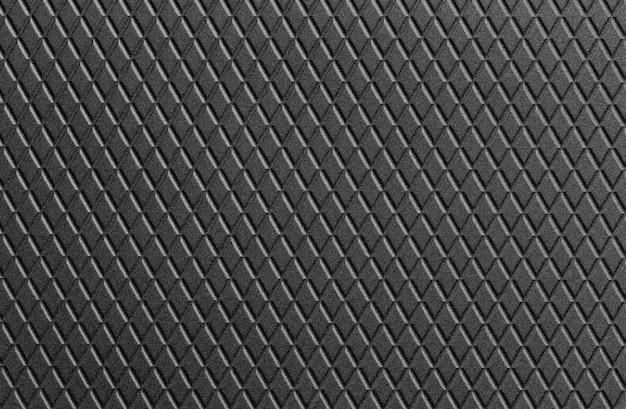 Texture de fond en cuir noir.