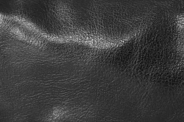 Texture de fond en cuir noir
