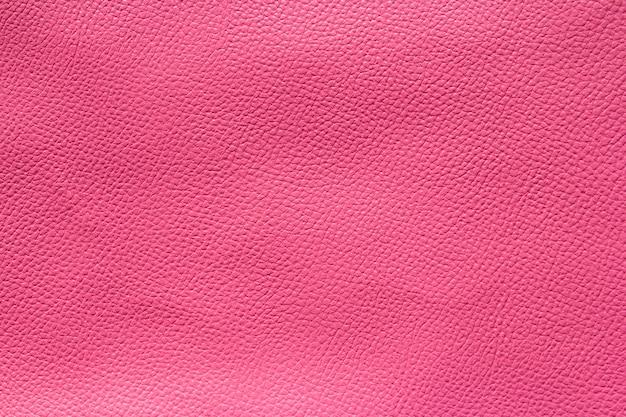 Texture et fond en cuir rose