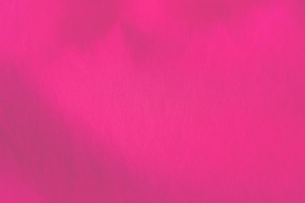 Texture de fond de cutton rose ondulé.
