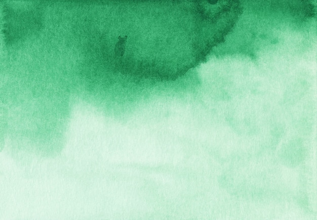 Texture de fond dégradé aquarelle vert et blanc. toile de fond abstrait liquide aquarelle.