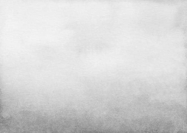 Texture de fond dégradé gris clair aquarelle