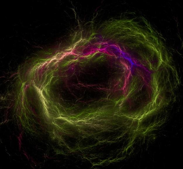 Texture de fond de l'espace extra-atmosphérique étoilé.
