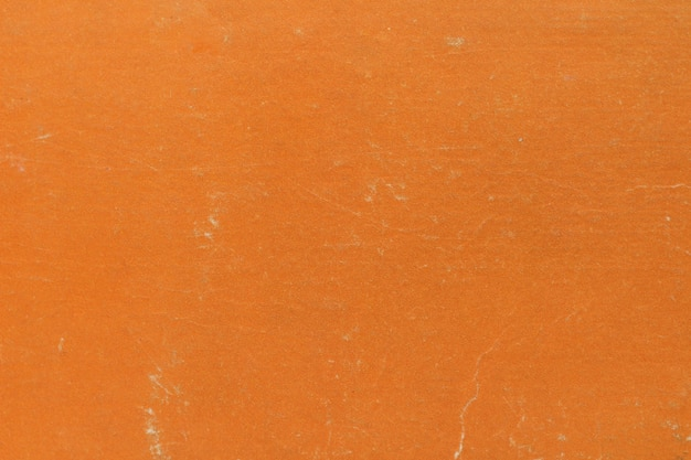 La texture de fond est faite de la couleur orange de la couverture du livre
