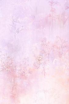 Texture de fond floral vieux grungy