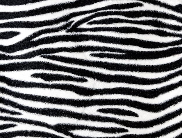 Texture de fond de fourrure de zèbre