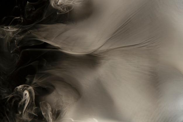 Texture de fond de fumée, dessin abstrait beige