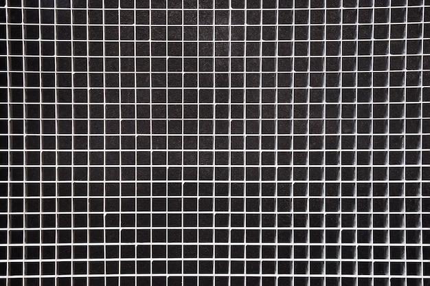 Texture de fond de grille en métal argenté