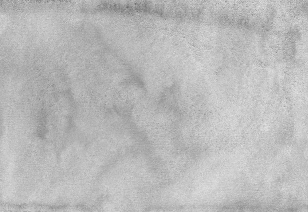 Texture de fond gris aquarelle. aquarelle abstraite ancienne toile de fond monochrome.