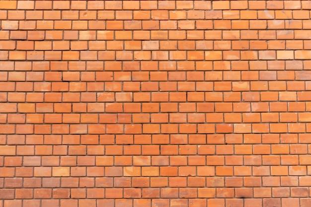 Texture de fond grunge mur brique rouge