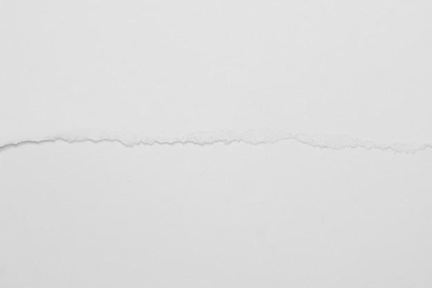 Texture de fond grunge de papier déchiré blanc pour la conception