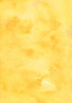 Texture de fond jaune aquarelle