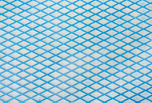 Texture de fond de lignes métalliques bleues