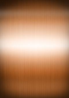 Texture de fond en métal brossé de cuivre