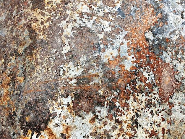 Texture et fond de métal rouillé