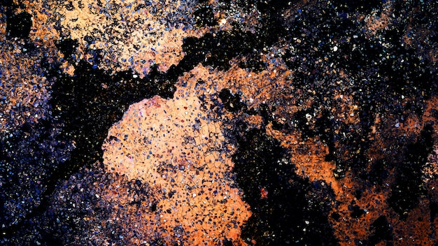 Texture de fond de mur abstrait. espace, univers et fond d'étoiles.