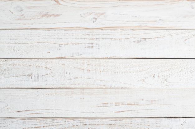 Texture et fond de mur en bois naturel blanc