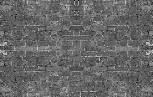 Texture de fond de mur de brique gris grunge
