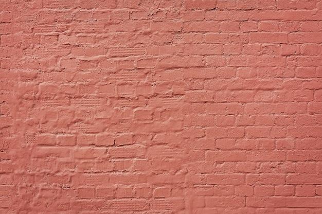 Texture De Mur De Brique Rose. Fond Vide. Stonewall Vintage.   Photo Premium