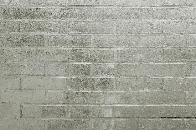 Texture de fond de mur de brique peinte gris ancien