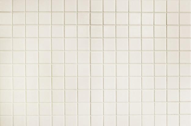 Texture de fond de mur de carreaux blanc