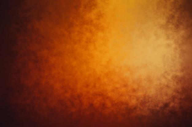 Texture de fond orange grunge abstrait jaune foncé
