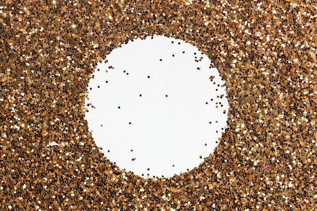 Texture de fond de paillettes d'or
