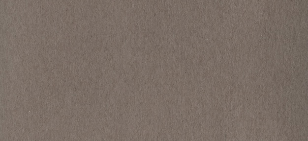 Texture de fond de papier carton kraft brun propre. carton vintage
