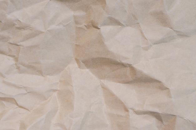 Texture de fond de papier froissé