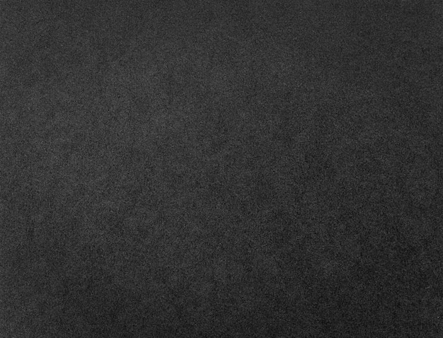 Texture ou fond de papier noir. motif grunge en carton