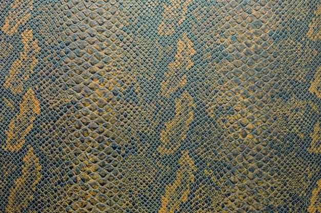 Texture de fond de peau de serpent en couleur vibrante