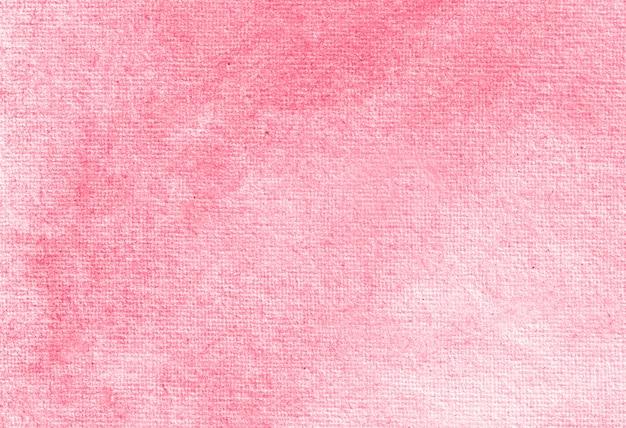 Texture de fond peinte à la main aquarelle pastel abstrait rose.