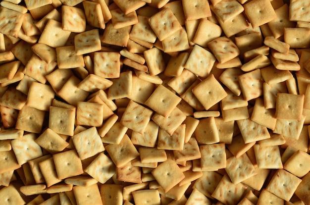 Texture de fond de petits carrés comestibles