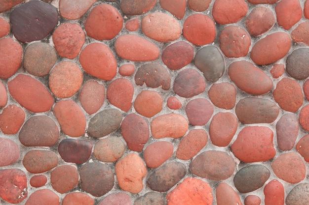 Texture de fond de pierre rouge