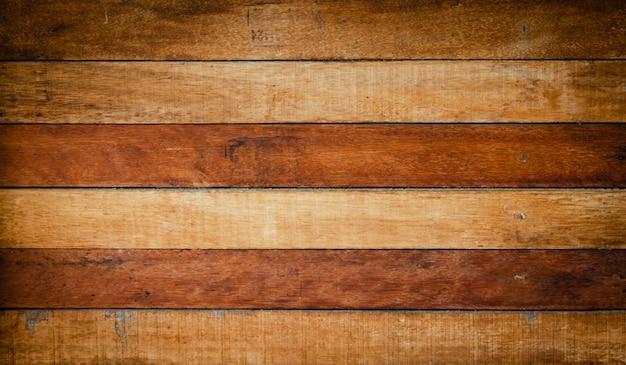 Texture de fond de planche de bois brun