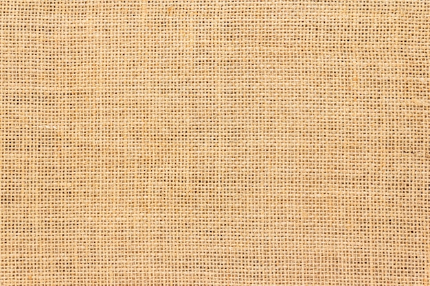 Texture et fond de sac de jute