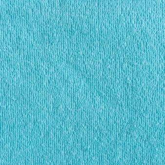 Texture de fond de serviette en coton naturel bleu